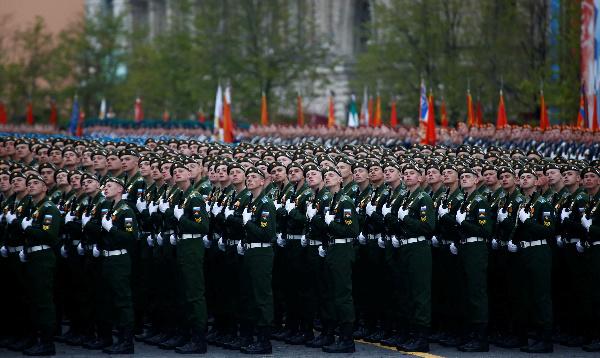 Nga duyệt binh kỷ niệm 72 năm Ngày Chiến thắng phát xít 9/5 - Ảnh 11