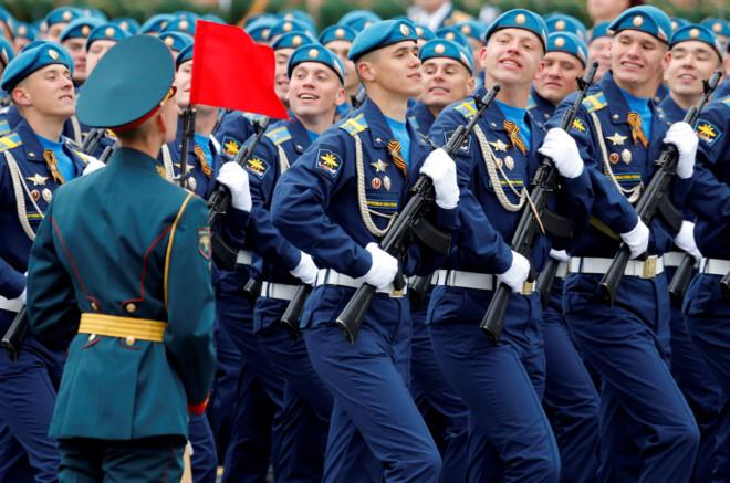 Nga duyệt binh kỷ niệm 72 năm Ngày Chiến thắng phát xít 9/5 - Ảnh 5