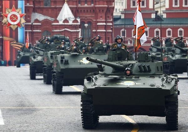Nga duyệt binh kỷ niệm 72 năm Ngày Chiến thắng phát xít 9/5 - Ảnh 1