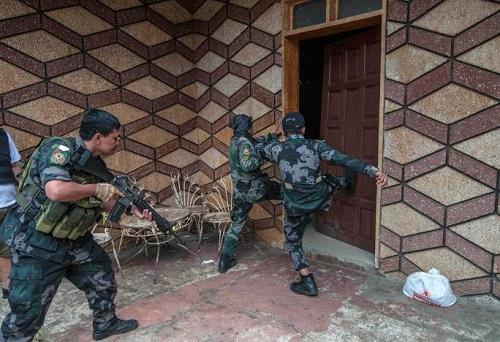 Chiến sự Marawi: Phiến quân Hồi giáo chỉ còn kiểm soát 20% thị trấn tại Philippines - Ảnh 1