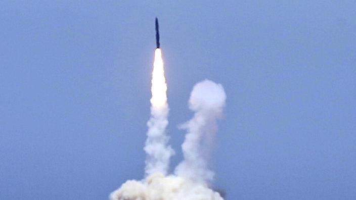 Triều Tiên có thể vừa phóng một loạt tên lửa đất đối hạm - Ảnh 1