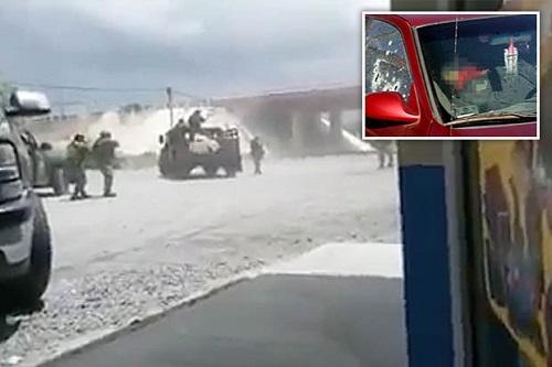 Quân đội Mexico xả súng liên hoàn vào tội phạm ma túy  - Ảnh 1