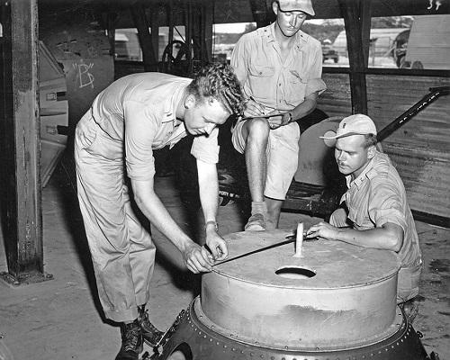 Tiết lộ quá trình Mỹ chuẩn bị bom nguyên tử ném xuống Nhật Bản - Ảnh 1