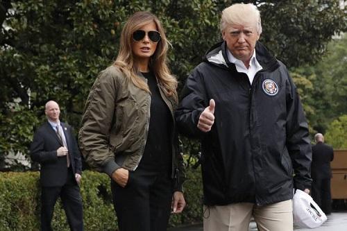Tổng thống Mỹ ủng hộ 1 triệu USD cho nạn nhân bão Harvey - Ảnh 1