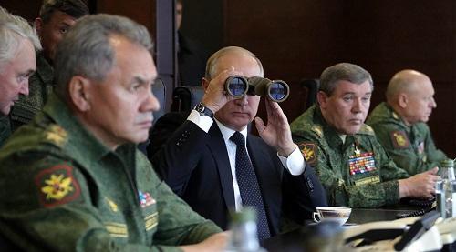 Tổng thống Putin thị sát cuộc tập trận chung siêu khủng của Nga, Belarus - Ảnh 1