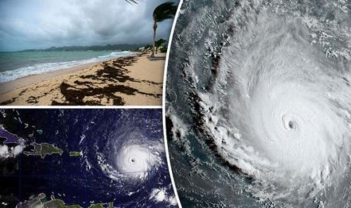 Siêu bão Irma lớn bằng cả nước Pháp đang tiến về phía Mỹ - Ảnh 1