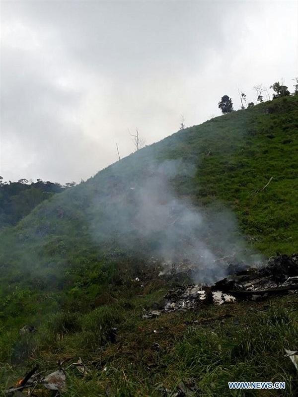 Trực thăng Mi-17 gặp nạn, tất cả 10 người thiệt mạng - Ảnh 1