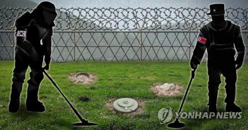 Hàn Quốc và Triều Tiên bắt đầu gỡ mìn tại khu phi quân sự - Ảnh 1