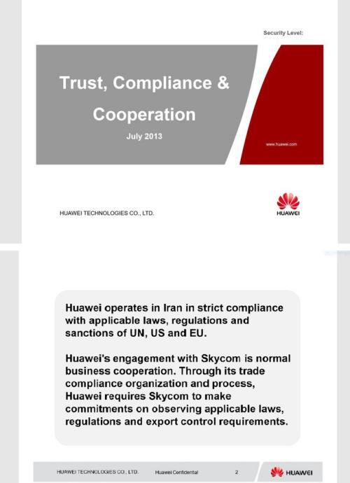 Mỹ chính thức công bố tài liệu mật buộc tội giám đốc tài chính Huawei - Ảnh 1