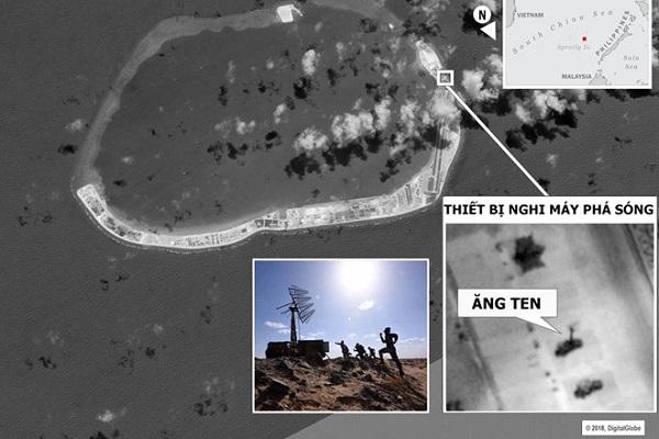 Quan chức Mỹ: Trung Quốc lắp máy nhiễu sóng trái phép trên Biển Đông - Ảnh 1
