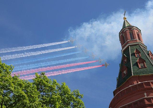 Nga duyệt binh kỷ niệm 73 năm Ngày Chiến thắng trên Quảng trường Đỏ - Ảnh 1