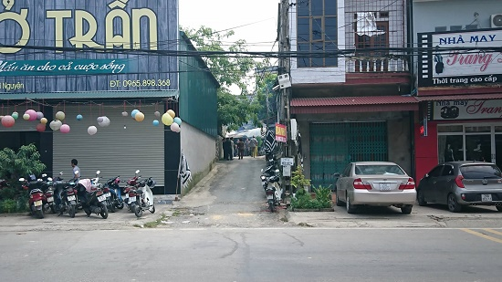 Hiện trường vụ anh chém 3 người nhà em gái thương vong ở Thái Nguyên - Ảnh 5