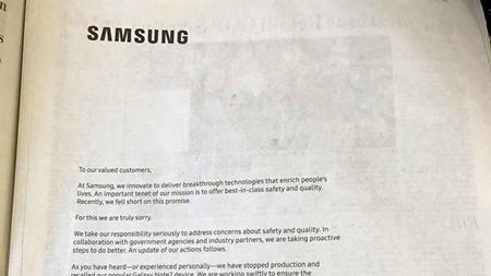 """Samsung """"chi đậm"""" mua quảng cáo để xin lỗi người dùng Mỹ - Ảnh 1"""