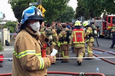Trận hỏa hoạn thiêu rụi khu chợ người Việt ở Australia - Ảnh 1