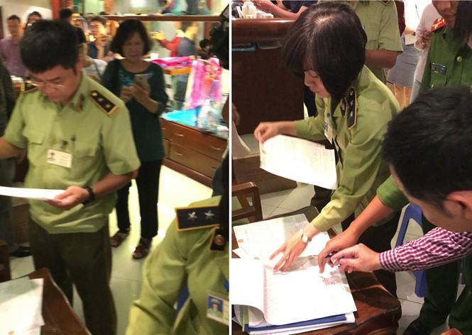 Công an Hà Nội chưa nhận được hồ sơ vụ Khaisilk bán lụa Trung Quốc - Ảnh 1