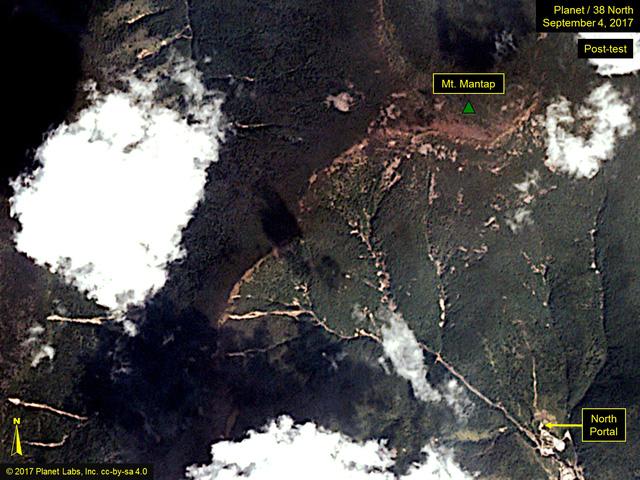 Tai nạn sập hầm ở bãi thử hạt nhân Triều Tiên, có thể 200 người chết - Ảnh 1