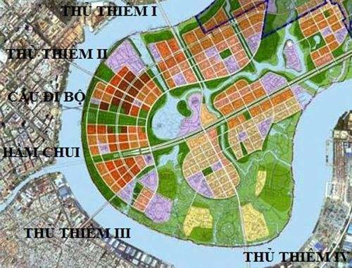 TP. Hồ Chí Minh đề xuất đổi đất vàng lấy cầu Thủ Thiêm 4 - Ảnh 1