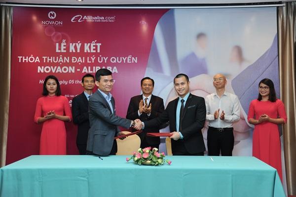 Novaon bắt tay với Alibaba của Jackma phát triển xuất khẩu trực tuyến cho doanh nghiệp Việt - Ảnh 1