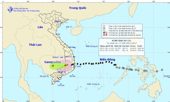 Dự báo thời tiết ngày 5/11: Miền Bắc lạnh 15 độ, miền Trung đề phòng lũ quét - Ảnh 1