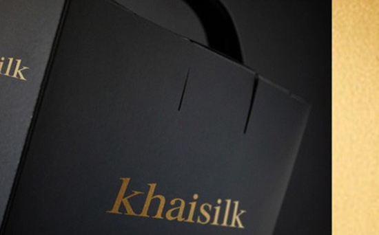 Khăn lụa Khaisilk thực chất làm từ polyester - Ảnh 1