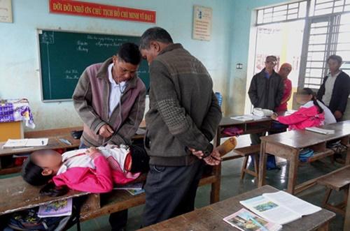 Nhiều học sinh Đắk Lắk mắc bệnh lạ: Bác sĩ không tìm ra nguyên nhân - Ảnh 1