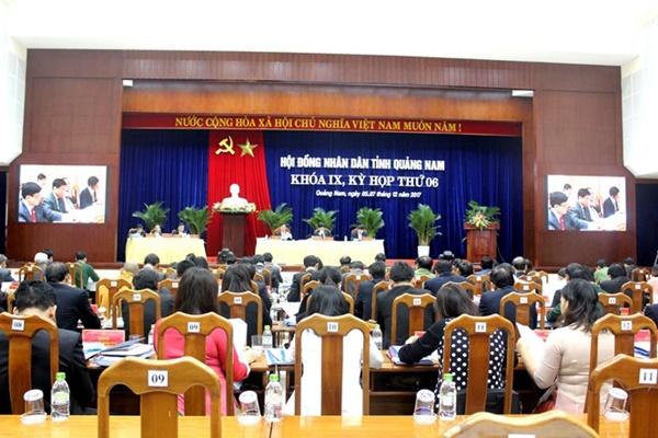 Quảng Nam khai mạc kỳ họp thứ 6, HĐND tỉnh khóa IX - Ảnh 1