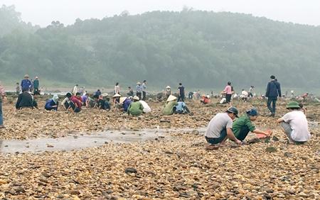 Sau tin đồn tìm thấy đá quý, hàng trăm người bỏ đồng ra sông tìm vận may - Ảnh 2