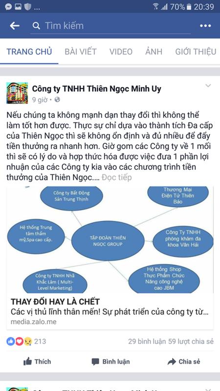 """Đa cấp Thiên Ngọc Minh Uy dùng chiêu """"ve sầu thoát xác"""" thành Nhã Khắc Lâm - Ảnh 2"""
