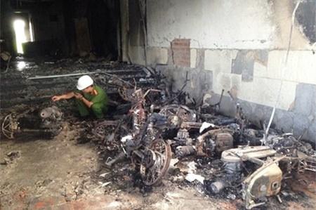 Vụ cháy khách sạn 5 tầng ở Bình Thuận: 13 người nhập viện cấp cứu - Ảnh 1