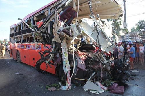 Vụ tại nạn 13 người chết ở Gia Lai: Xe tải chưa được phù hiệu - Ảnh 1