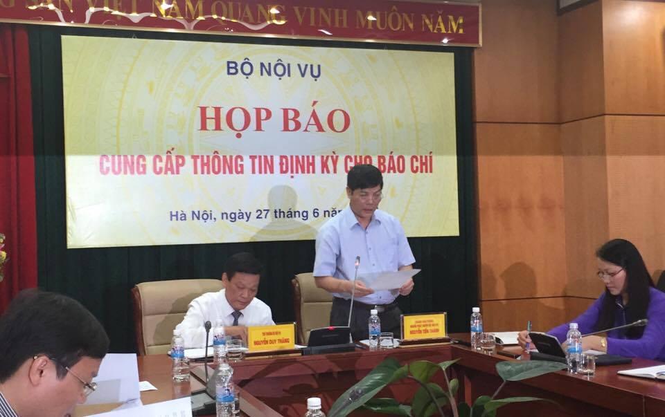 Sở Nội vụ Hà Nội phải giảm số lượng Phó giám đốc trước 30/6 - Ảnh 1