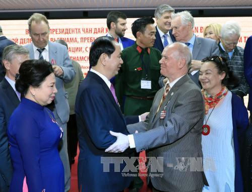 Các hoạt động của Chủ tịch nước trong ngày đầu tiên thăm Liên bang Nga - Ảnh 3