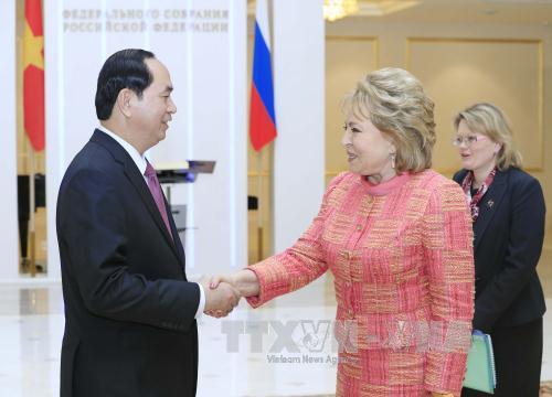 Các hoạt động của Chủ tịch nước trong ngày đầu tiên thăm Liên bang Nga - Ảnh 1