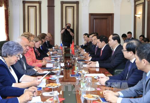 Các hoạt động của Chủ tịch nước trong ngày đầu tiên thăm Liên bang Nga - Ảnh 2