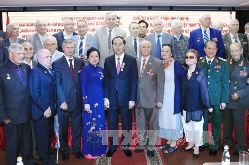 Các hoạt động của Chủ tịch nước trong ngày đầu tiên thăm Liên bang Nga - Ảnh 4