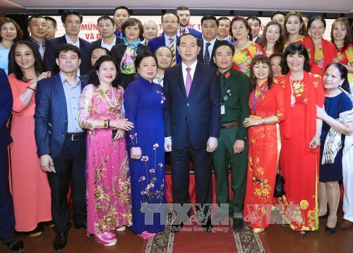 Các hoạt động của Chủ tịch nước trong ngày đầu tiên thăm Liên bang Nga - Ảnh 6