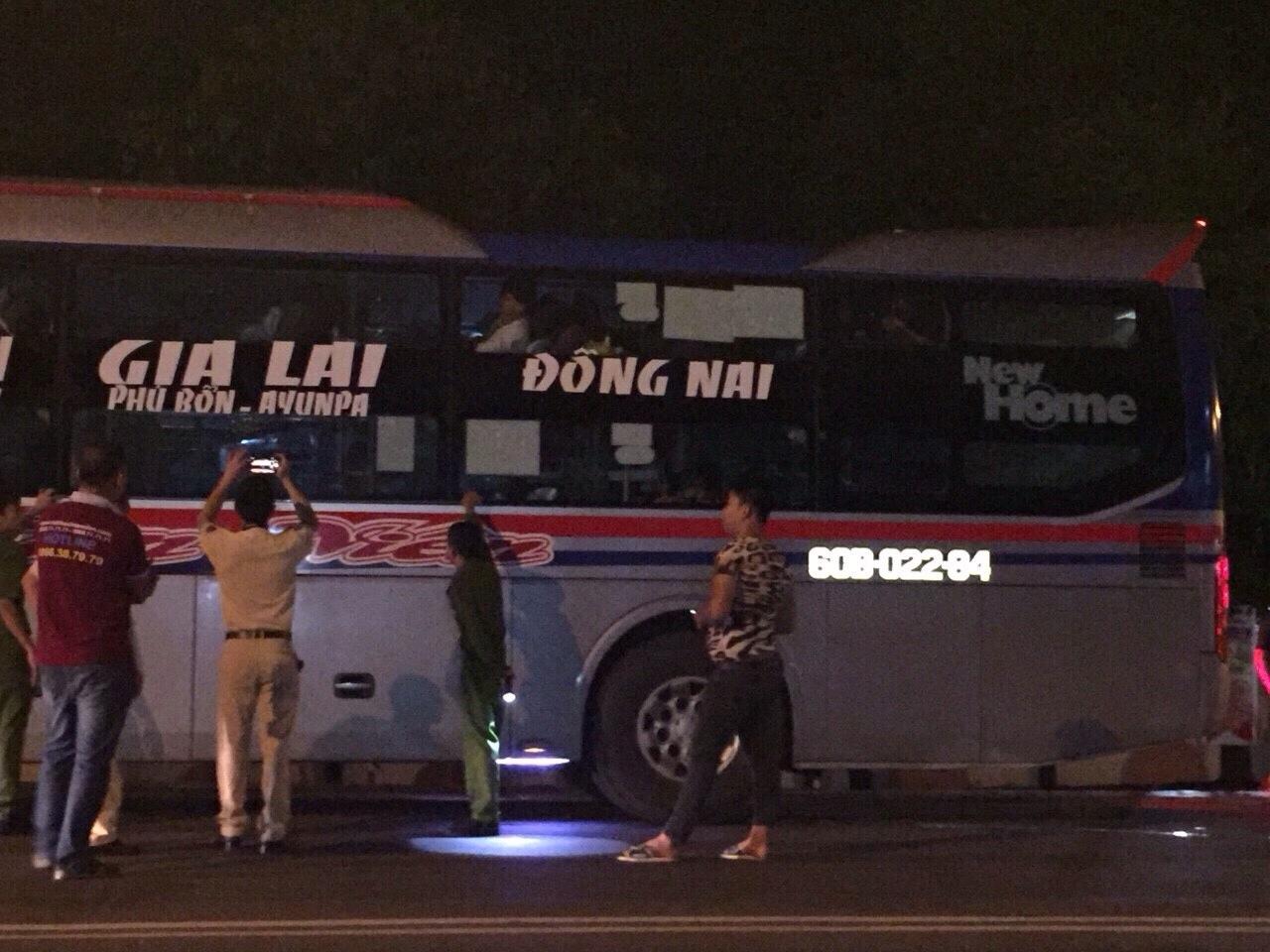 Nạn ném đá xe khách trên đường Hồ Chí Minh lại tái diễn - Ảnh 1
