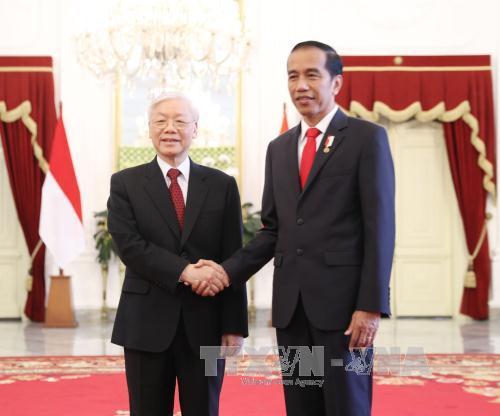 Việt Nam và Indonesia ký kết nhiều văn kiện hợp tác - Ảnh 1