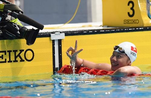 Ánh Viên đoạt HCV thứ 8, tiếp tục phá kỷ lục SEA Games - Ảnh 1