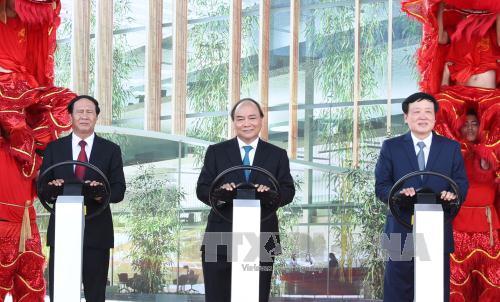 Khởi công xây nhà máy sản xuất ô tô thương hiệu Việt của Vingroup  - Ảnh 1