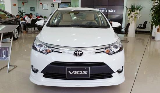 """Sát Tết nguyên đán, Toyota """"chơi lớn"""" giảm giá Vios, Innova - Ảnh 1"""