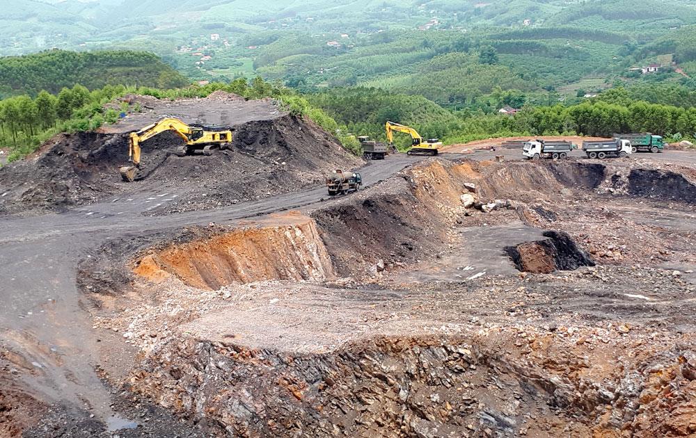 Liên tiếp vi phạm, Khoáng sản Bắc Giang bị phạt 265 triệu đồng - Ảnh 1