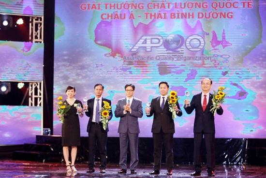 73 doanh nghiệp nhận giải thưởng chất lượng quốc gia - Ảnh 1