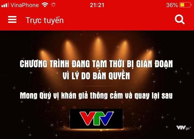 Bất ngờ với lý do VTV bị cắt sóng giữa chừng trận đấu Olympic Việt Nam –  Olympic Bahrain - Ảnh 2