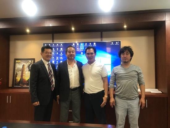 Tổng giám đốc Lucky Vietnam Construction chúc mừng HDTC thắng kiện - Ảnh 2