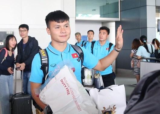 U23 Việt Nam đã về TP.HCM, thầy Park vẫn ở lại Hàn Quốc thêm 2 ngày - Ảnh 1