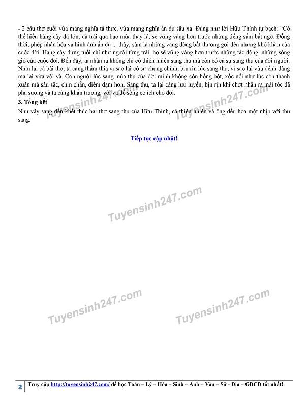 Đáp án, đề thi môn Ngữ Văn vào lớp 10 tại Hà Nội chuẩn và chính xác nhất - Ảnh 3