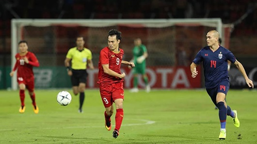 Việt Nam 0 - 0 Thái Lan vòng loại World Cup 2022: Bất phân thắng bại, tuyển Việt Nam có 1 điểm trên đất Thái - Ảnh 1