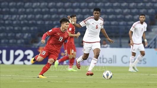 """U23 Việt Nam 0 -0 U23 UAE: Đáng tiếc loạt cơ hội """"ngon ăn"""", dấu ấn của VAR - Ảnh 2"""