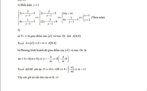 Đáp án, đề thi môn Toán vào lớp 10 tại Hà Nội chuẩn nhất, chi tiết nhất - Ảnh 3
